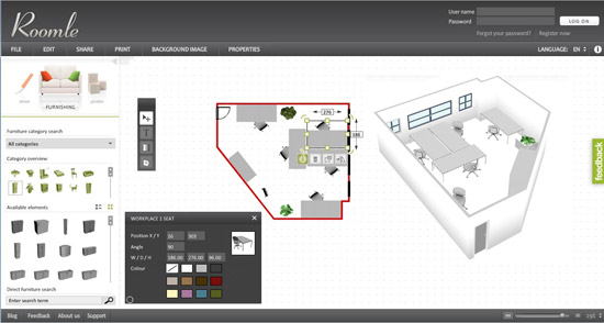 Free home design software download Design a room online free