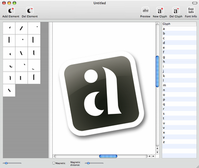 FontConstructor - Font Creation Software for Mac OS