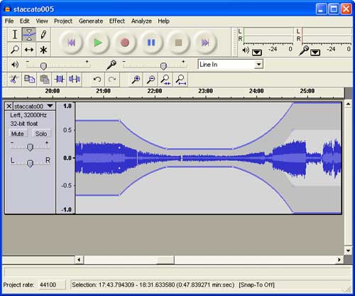 audacity windows - Free audio editor