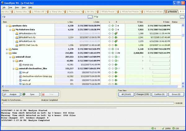Free File Synchronization GoodSync