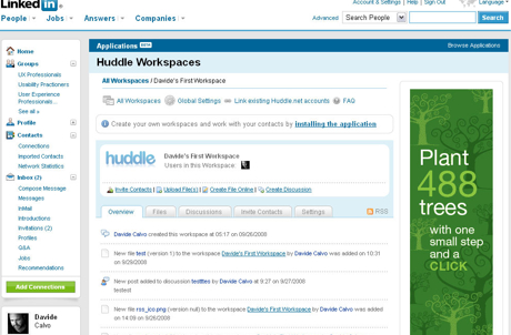 Huddle -  Online collaboration and project management tool