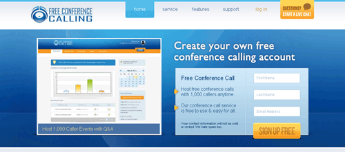 free conference calling - online free conference call