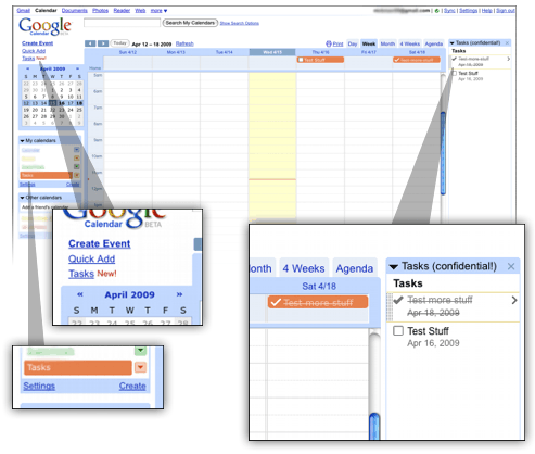 Google Tasks - Online task management tool