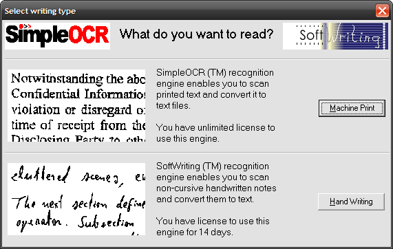 Simple OCR - Free OCR Software