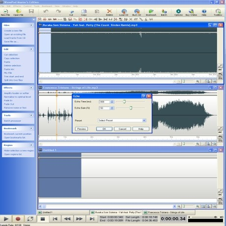 wave pad - audio editor