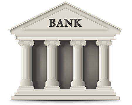 bank building psd file