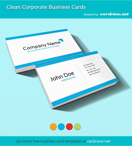 free bussines card psd file