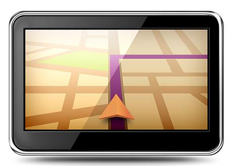 gps navigation psd file