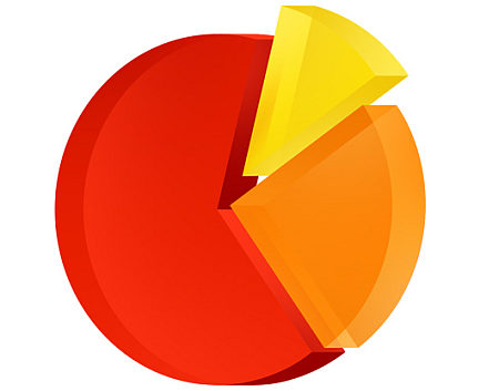 piechart PSD file