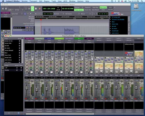 Ardour - Cross platform digital sound workstation