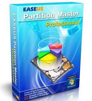 Easeus Partition Master Professional 9 software