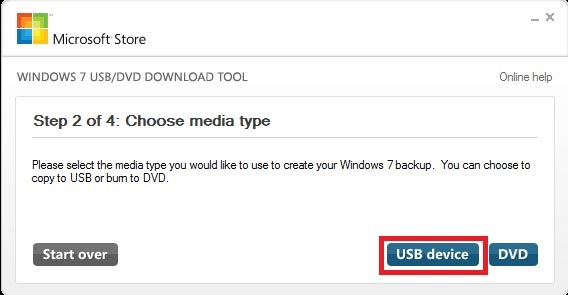 Create bootable Windows 8 USB installer