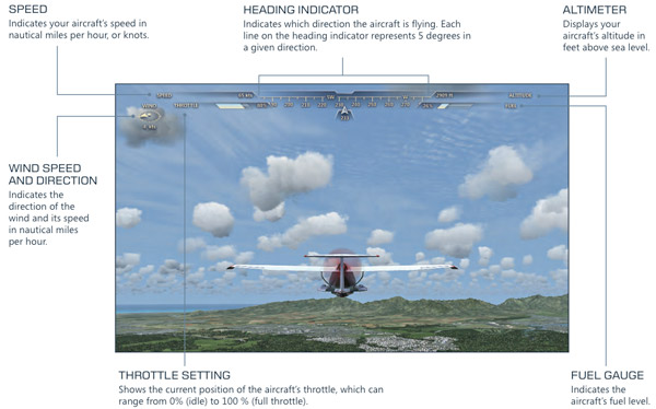 Microsoft Flight Game Screenshot