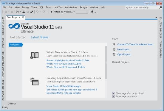 Visual Studio 11 Download