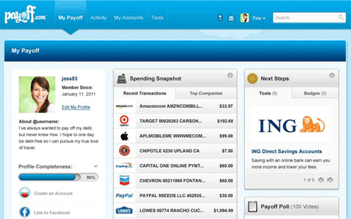 payoff online money manager