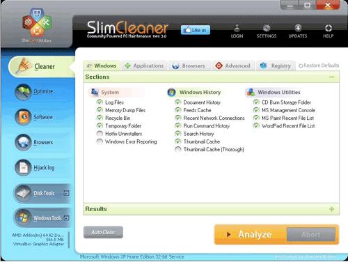 Slim Cleaner