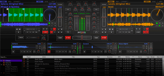 Free DJ Software Mixx