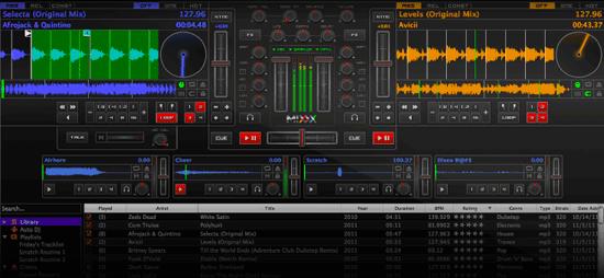 Free DJ Software Mixx