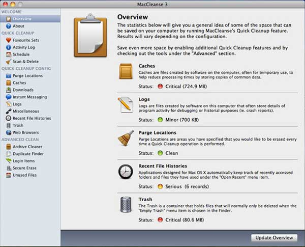 Mac Cleanse Mac File Cleaner