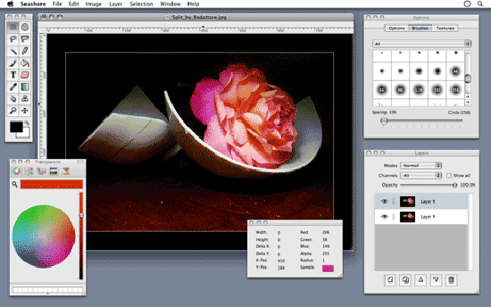 Fotografix - tiny windows image editor software