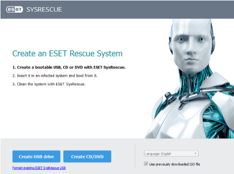 Eset SysRescue Live