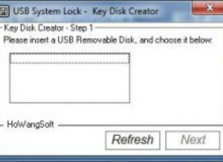 USB Lock Windows