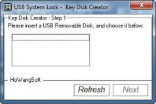 Lock Windows USB