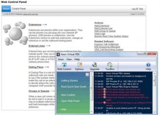 axon virtual pbx - windows free PABX software