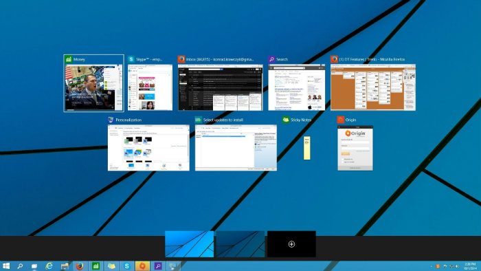 windows 10 taskar