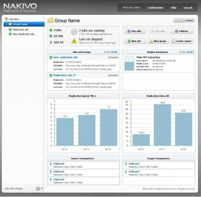 NAKIVO Backup Replication Free