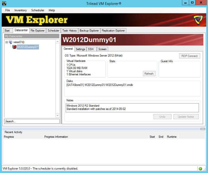 Trilead VM Explorer Free - Free VM Backup