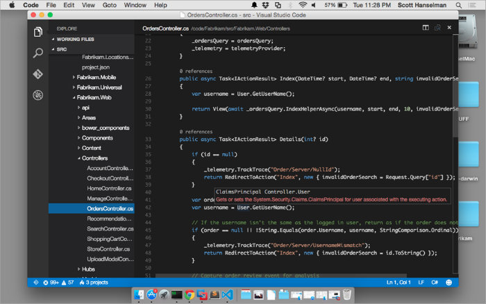 Mac Visual Studio Code
