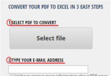 Financial PDF to Excel